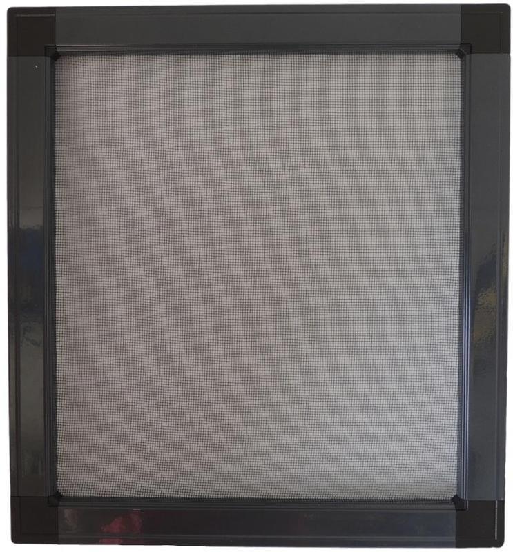 Moustiquaire fixe pour fenetre avec cadre aluminium sur mesure for Moustiquaire fenetre pvc