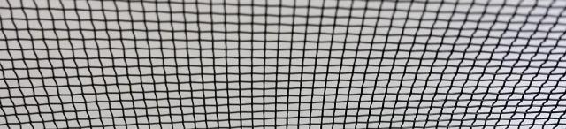 Toile Moustiquaire Aluminium Noire