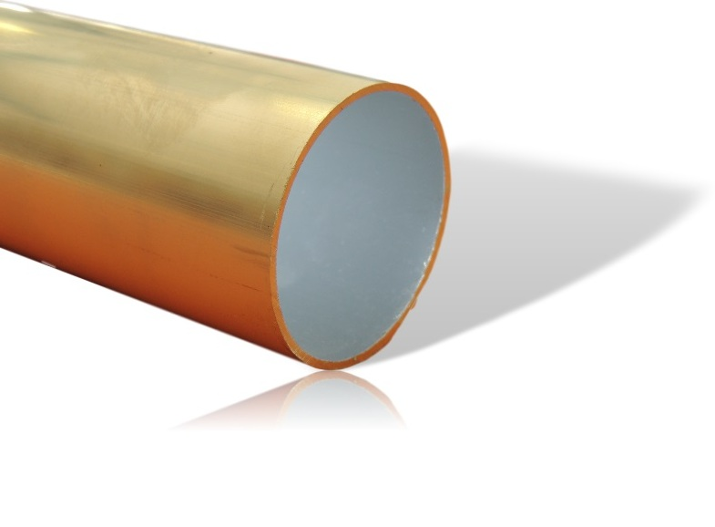 tube aluminium 50 mm rond lisse paisseur 5 mm pour store. Black Bedroom Furniture Sets. Home Design Ideas