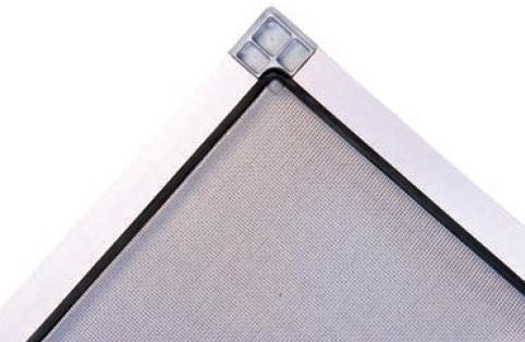 moustiquaire fixe pour fenetre avec cadre aluminium sur mesure. Black Bedroom Furniture Sets. Home Design Ideas